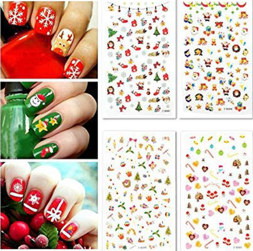 Christmas-Nail-Art-Stickers-Decals-2019-10