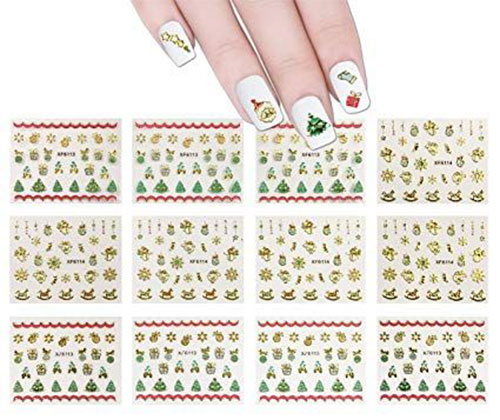 Christmas-Nail-Art-Stickers-Decals-2019-12