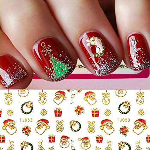 Christmas-Nail-Art-Stickers-Decals-2019-2