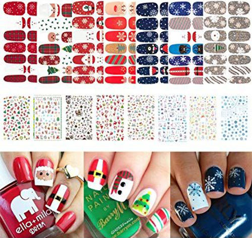 Christmas-Nail-Art-Stickers-Decals-2019-3