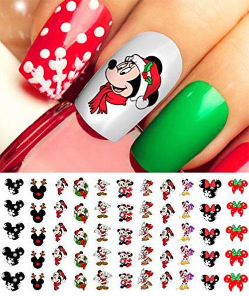 Christmas-Nail-Art-Stickers-Decals-2019-4