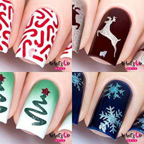 Christmas-Nail-Art-Stickers-Decals-2019-7