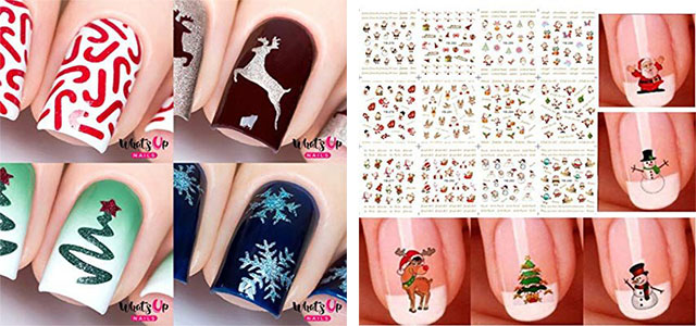 Christmas-Nail-Art-Stickers-Decals-2019-F