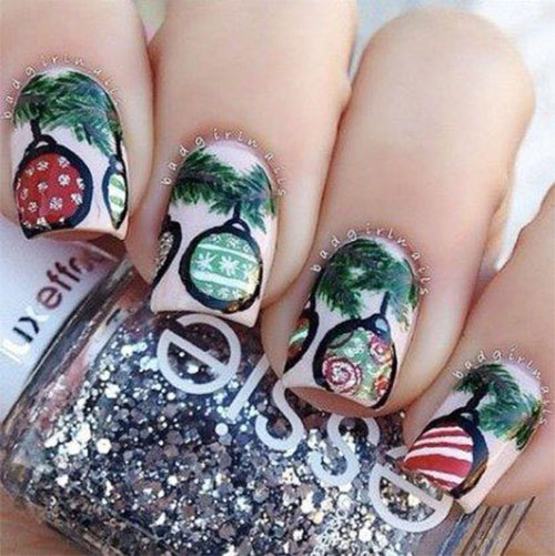Christmas-Ornament-Nail-Art-Designs-Ideas-2019-7