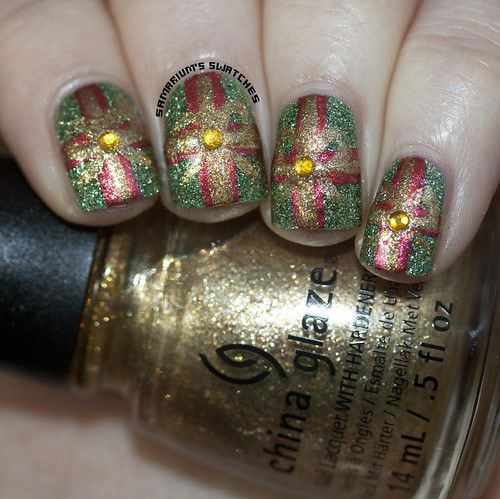 Christmas-Present-Nail-Art-Ideas-2019-Christmas-gift-Nails-10