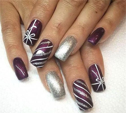 Christmas-Present-Nail-Art-Ideas-2019-Christmas-gift-Nails-11