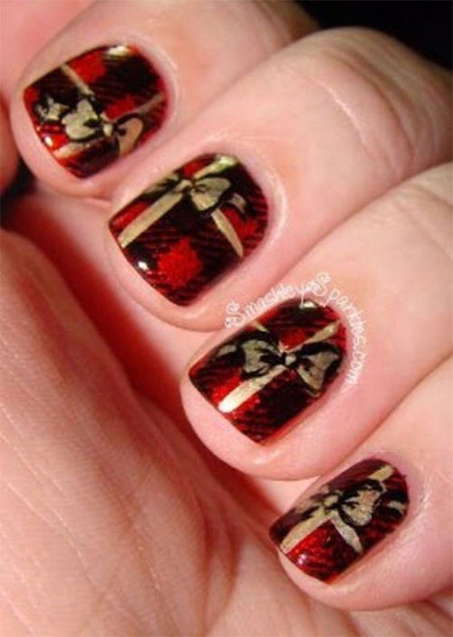 Christmas-Present-Nail-Art-Ideas-2019-Christmas-gift-Nails-4
