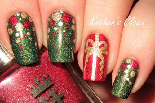 Christmas-Present-Nail-Art-Ideas-2019-Christmas-gift-Nails-8