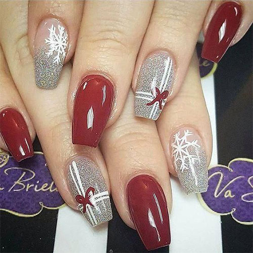 Christmas-Present-Nail-Art-Ideas-2019-Christmas-gift-Nails-9