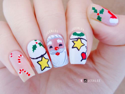 Christmas-Santa-Nail-Art-Designs-2019-Xmas-Nails-11
