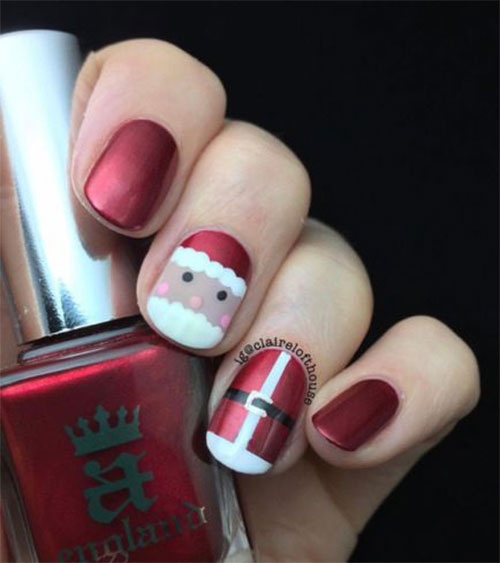 Christmas-Santa-Nail-Art-Designs-2019-Xmas-Nails-15