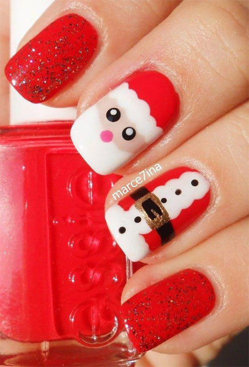 Christmas-Santa-Nail-Art-Designs-2019-Xmas-Nails-6