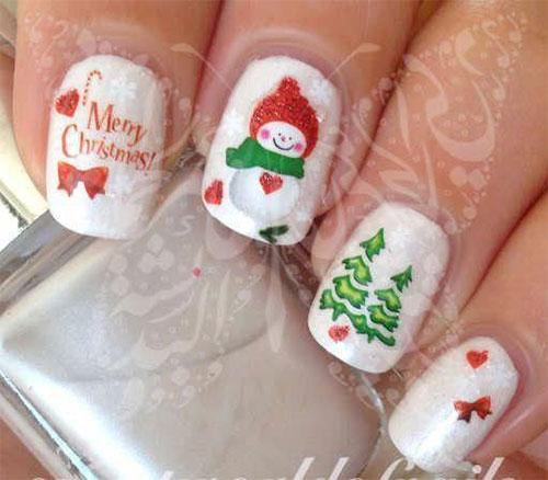 Christmas-Snowman-Nail-Art-Ideas-2019-Xmas-Nails-8