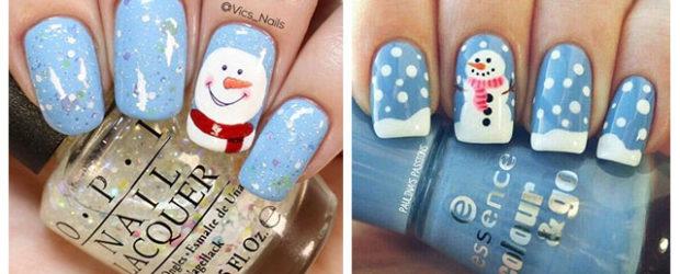 Christmas-Snowman-Nail-Art-Ideas-2019-Xmas-Nails-F