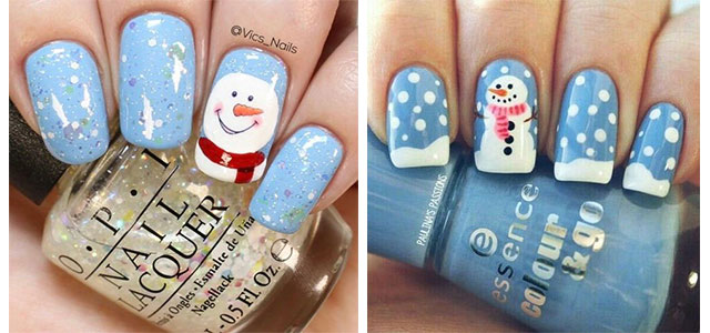 Christmas-Snowman-Nail-Art-Ideas-2019-Xmas-Nails-F