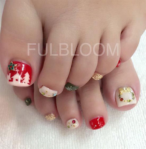 Christmas-Toe-Nail-Art-Designs-2019-Xmas-Nails-9