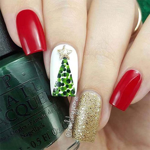 Christmas-Tree-Nail-Art-Designs-2019-Holiday-Nails-10