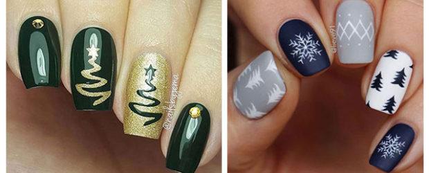 Christmas-Tree-Nail-Art-Designs-2019-Holiday-Nails-F