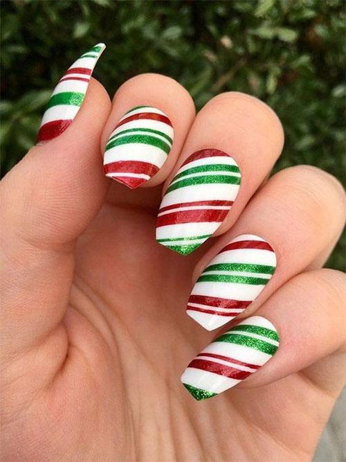 Cute-Simple-Easy-Christmas-Nails-Art-Designs-2019-10