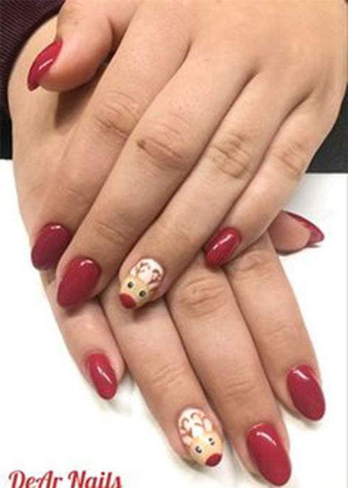 Cute-Simple-Easy-Christmas-Nails-Art-Designs-2019-11