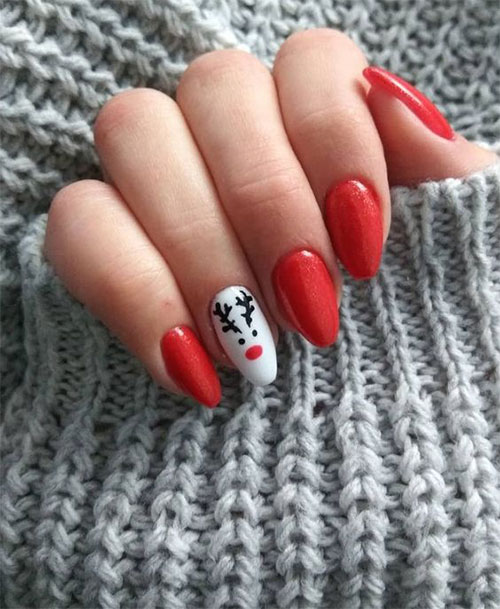 Cute-Simple-Easy-Christmas-Nails-Art-Designs-2019-12