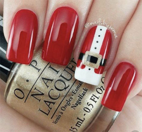 Cute-Simple-Easy-Christmas-Nails-Art-Designs-2019-2