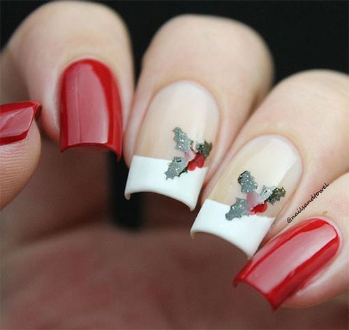Cute-Simple-Easy-Christmas-Nails-Art-Designs-2019-4