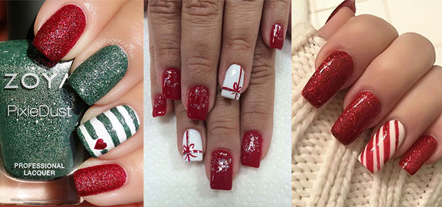 Cute-Simple-Easy-Christmas-Nails-Art-Designs-2019-F