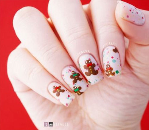 Gingerbread-Men-Christmas-Nails-Art-Designs-2019-1