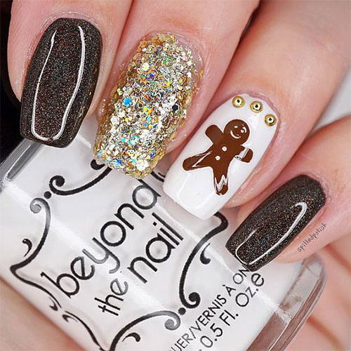 Gingerbread-Men-Christmas-Nails-Art-Designs-2019-10