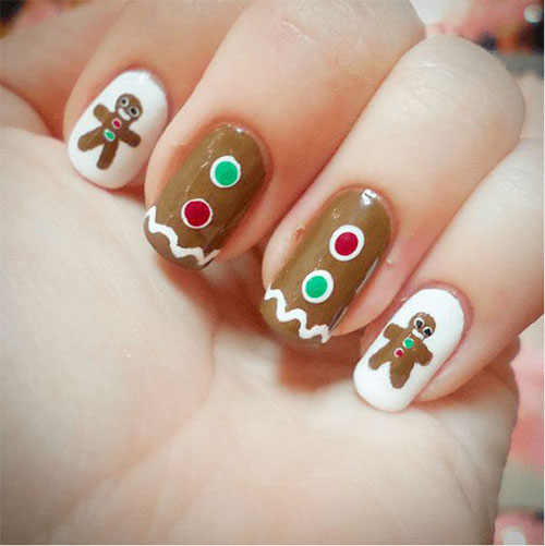 Gingerbread-Men-Christmas-Nails-Art-Designs-2019-11