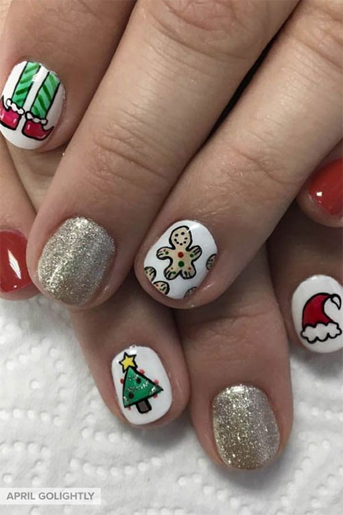 Gingerbread-Men-Christmas-Nails-Art-Designs-2019-13