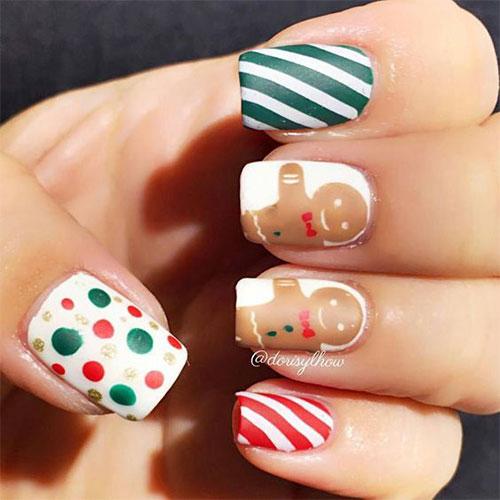 Gingerbread-Men-Christmas-Nails-Art-Designs-2019-14