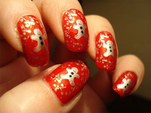 Gingerbread-Men-Christmas-Nails-Art-Designs-2019-3