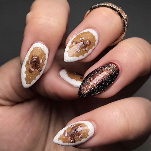Gingerbread-Men-Christmas-Nails-Art-Designs-2019-8