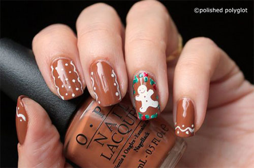 Gingerbread-Men-Christmas-Nails-Art-Designs-2019-9