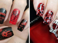 15-Anti-Valentine's-Day-Nail-Art-2020-F