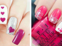 20 best valentine's day acrylic nail art designs ideas