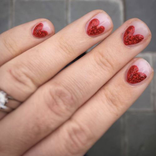 15-Valentine's-Day-Heart-Nail-Art-Designs-2020-Vday-Nails-17
