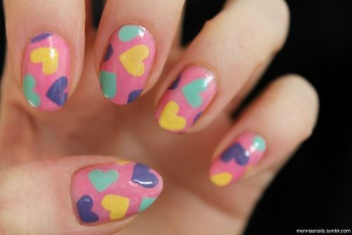 15-Valentine's-Day-Heart-Nail-Art-Designs-2020-Vday-Nails-7