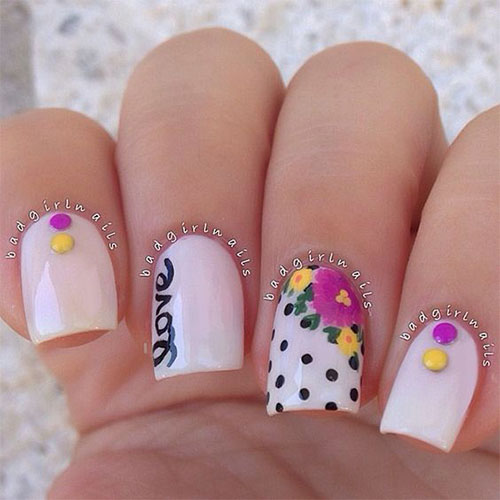 18-Cute-3d-Valentine's-Day-Nail-Art-Designs-2020-Vday-Nails-1