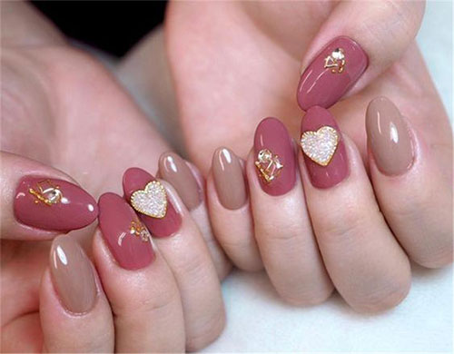 18-Cute-3d-Valentine's-Day-Nail-Art-Designs-2020-Vday-Nails-13