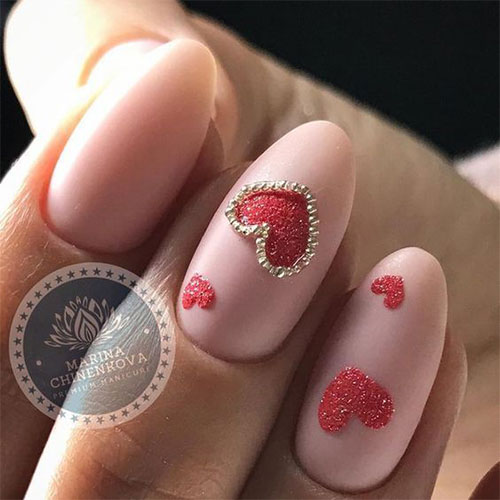 18-Cute-3d-Valentine's-Day-Nail-Art-Designs-2020-Vday-Nails-17