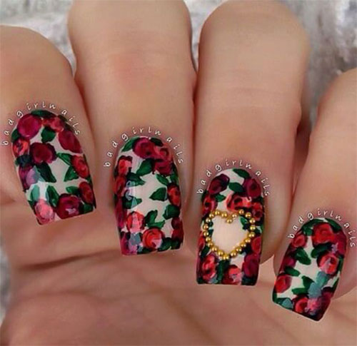 18-Cute-3d-Valentine's-Day-Nail-Art-Designs-2020-Vday-Nails-2