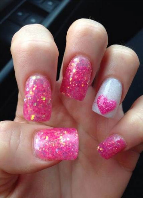 18-Pink-Valentine's-Day-Nail-Designs-2020-Vday-Nails-14