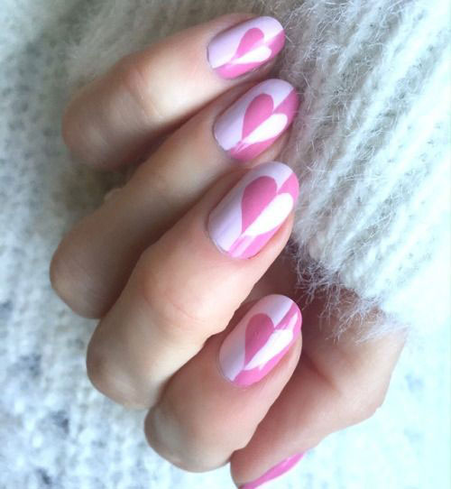 18-Pink-Valentine's-Day-Nail-Designs-2020-Vday-Nails-17