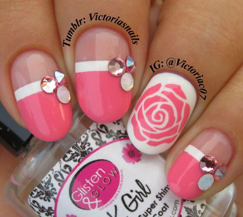 18-Pink-Valentine's-Day-Nail-Designs-2020-Vday-Nails-6