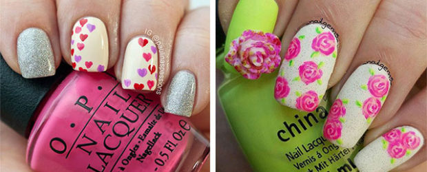 18-Pink-Valentine's-Day-Nail-Designs-2020-Vday-Nails-F