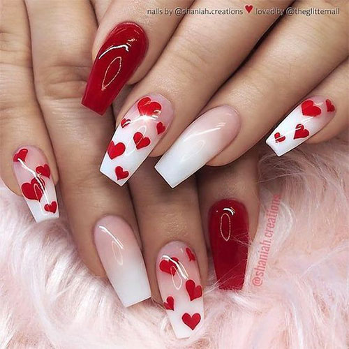 Coffin-Valentine's-Day-Nail-Art-Designs-2020-Vday-Nails-1