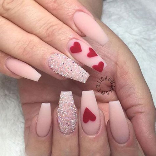 Coffin-Valentine's-Day-Nail-Art-Designs-2020-Vday-Nails-14